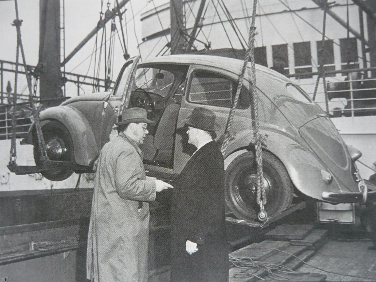 1949 - Pon shipped the first Beetle to the US